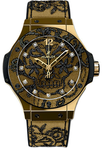 Hublot Watches - Big Bang 41mm Broderie - Style No: 343.VX.6580.NR.BSK16