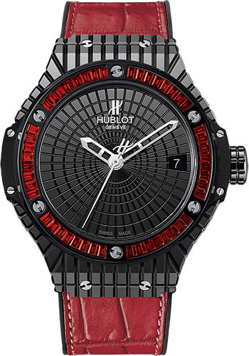 Hublot Watches - Big Bang 41mm Tutti Frutti Caviar - Style No: 346.CD.1800.LR.1913