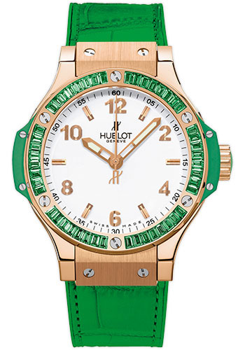 Hublot Watches - Big Bang 38mm Tutti Frutti - Red Gold - Style No: 361.PG.2010.LR.1922