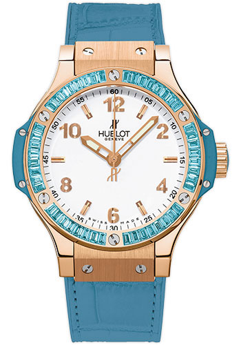 Hublot Watches - Big Bang 38mm Tutti Frutti - Red Gold - Style No: 361.PL.2010.LR.1907