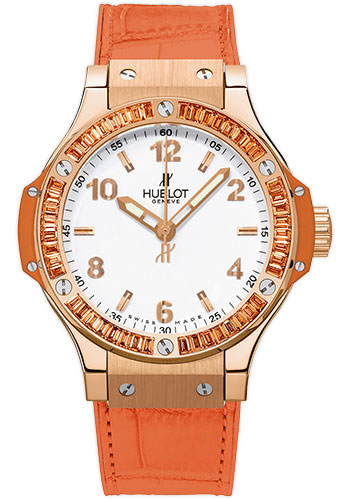Hublot Watches - Big Bang 38mm Tutti Frutti - Red Gold - Style No: 361.PO.2010.LR.1906