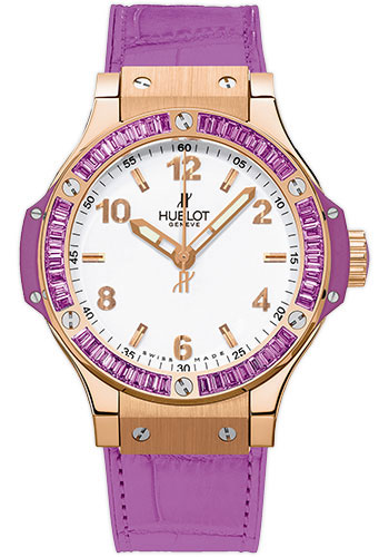Hublot Watches - Big Bang 38mm Tutti Frutti - Red Gold - Style No: 361.PV.2010.LR.1905