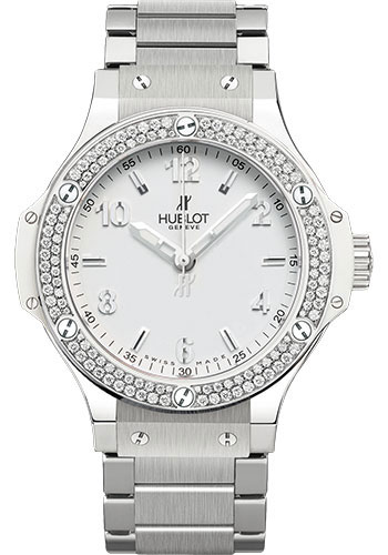 Hublot Watches - Big Bang 38mm Stainless Steel White - Style No: 361.SE.2010.SE.1104