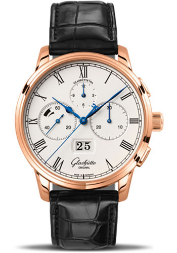 Glashutte Original Watches - Art and Technik Senator Chronograph Panorama Date - Style No: 37-01-01-05-30