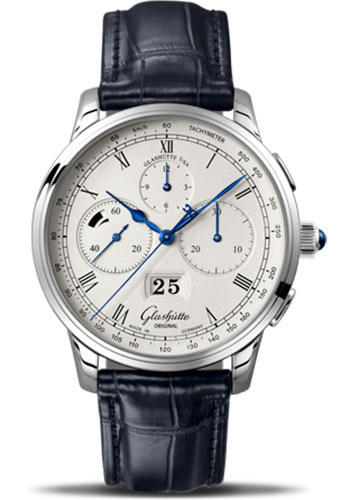 Glashutte Original Watches - Art and Technik Senator Chronograph Panorama Date - Style No: 37-01-02-03-30