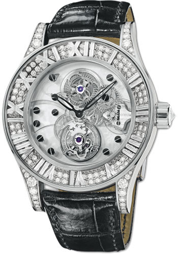 Corum Watches - Heritage Collection Romvlvs Billionaire Tourbillon - Style No: 372.749.69/0F81 0000