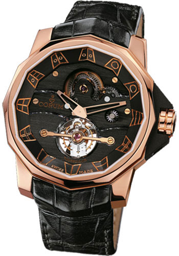 Corum Watches - Admiral's Cup Tourbillon 48 Red Gold - Style No: 372.931.55/0F01 0000