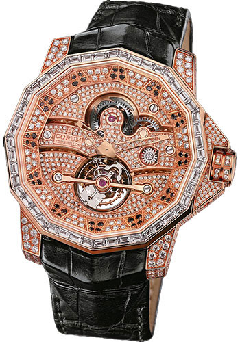 Corum Watches - Admiral's Cup Tourbillon 48 Red Gold - Style No: 372.931.85/0F01 0000
