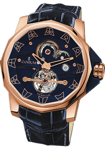 Corum Watches - Admiral's Cup Tourbillon 48 Red Gold - Style No: 372.933.55/F204 0000