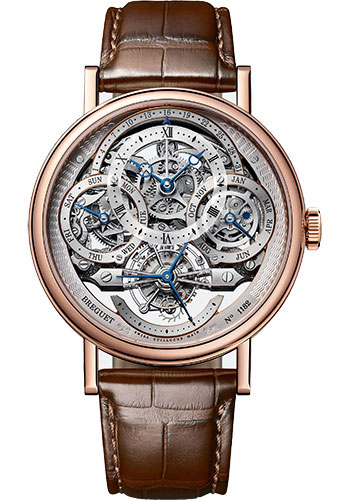Breguet Watches - Classique Grande Complication 3795 - Tourbillon Perpetual Calendar - 41mm - Style No: 3795BR/1E/9WU