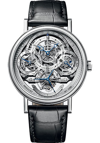 Breguet Watches - Classique Grande Complication 3795 - Tourbillon Perpetual Calendar - 41mm - Style No: 3795PT/1E/9WU