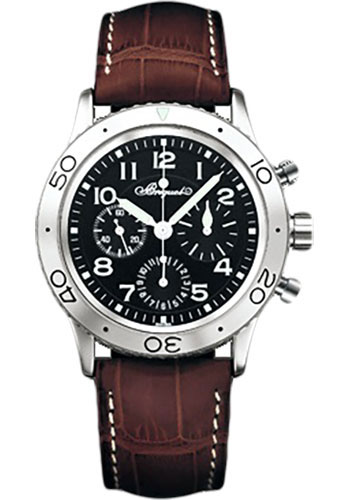 Breguet Watches - Type XX Aeronavale Fly-Back Chronograph 39.5mm - Steel - Style No: 3800ST/92/9W6