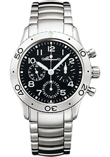 Breguet Watches - Type XX Aeronavale Fly-Back Chronograph 39.5mm - Steel - Style No: 3800ST/92/SW9