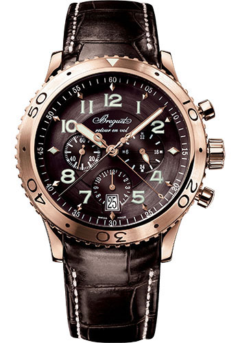 Breguet Watches - Type XX - XXI - XXII 3810 - Flyback Chronograph - Style No: 3810BR/92/9ZU
