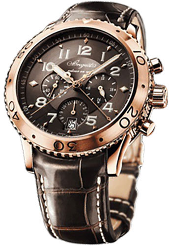 Breguet Watches - Type XX - XXI - XXII 3810 42mm - Rose Gold - Style No: 3810BR/92/9ZU