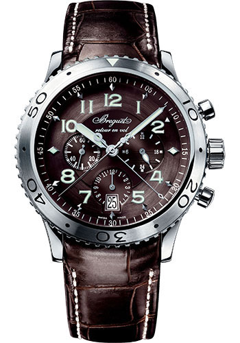 Breguet Watches - Type XX - XXI - XXII 3810 - Flyback Chronograph - Style No: 3810ST/92/9ZU