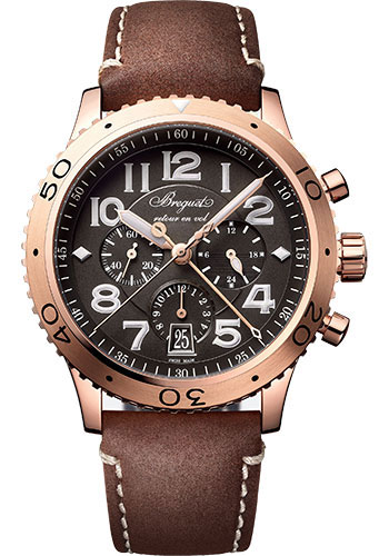 Breguet Watches - Type XX - XXI - XXII 3817 - Flyback Chronograph - Style No: 3817BR/Z2/3ZU