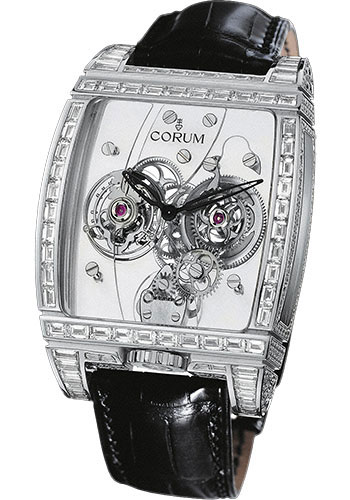 Corum Watches - Golden Bridge Tourbillon Panoramique White Gold - Style No: 382.859.69/0F81 0000