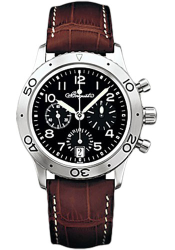 Breguet Watches - Type XX - XXI - XXII 3820 - Transatlantique Fly-Back Chronograph - 39.5mm - Style No: 3820ST/H2/9W6