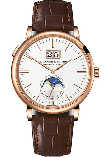 A. Lange & Sohne Watches - Saxonia Moon Phase - Style No: 384.032