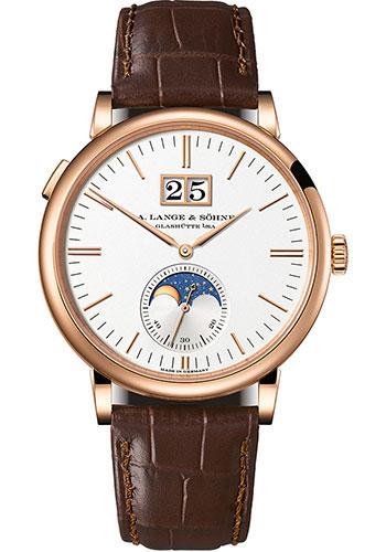 A. Lange & Sohne Saxonia Moonphase Watches From SwissLuxury