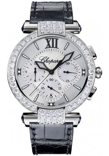 Chopard Watches - Imperiale Chronograph White Gold - Style No: 384211-1001
