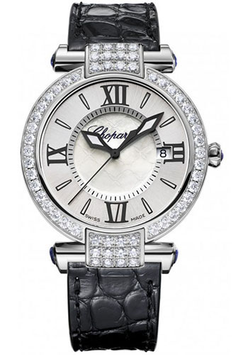 Chopard Watches - Imperiale Quartz 36mm White Gold - Style No: 384221-1001