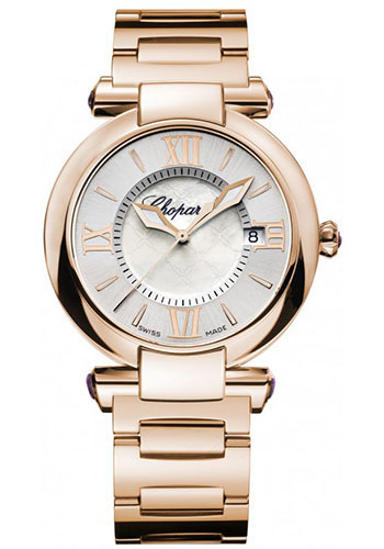 Chopard Watches - Imperiale Quartz 36mm Rose Gold - Style No: 384221-5003