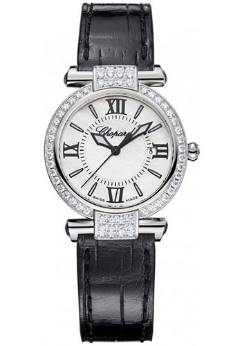Chopard Watches - Imperiale Quartz 28mm White Gold - Style No: 384238-1001
