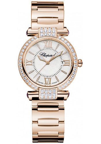Chopard Watches - Imperiale Quartz 28mm Rose Gold - Style No: 384238-5004