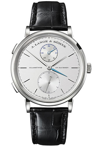 A. Lange & Sohne Watches - Saxonia Dual Time - Style No: 385.026
