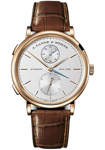 A. Lange & Sohne Watches - Saxonia Dual Time - Style No: 385.032