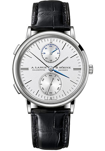 A. Lange & Sohne Watches - Saxonia Dual Time - Style No: 386.026
