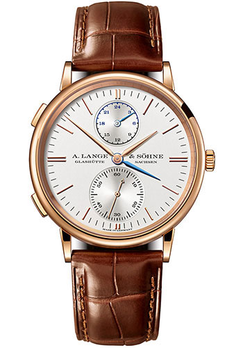 A. Lange & Sohne Watches - Saxonia Dual Time - Style No: 386.032