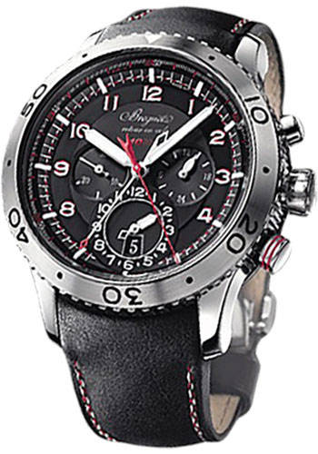 Breguet Watches - Type XXII Transatlantique Fly-Back Chronograph 44mm - Steel - Style No: 3880ST/H2/3XV