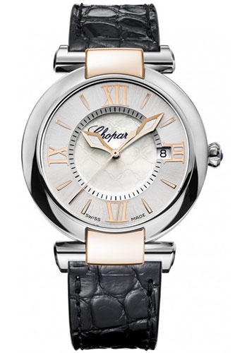Chopard Watches - Imperiale Quartz - 36mm - Steel and Rose Gold - Style No: 388532-6001