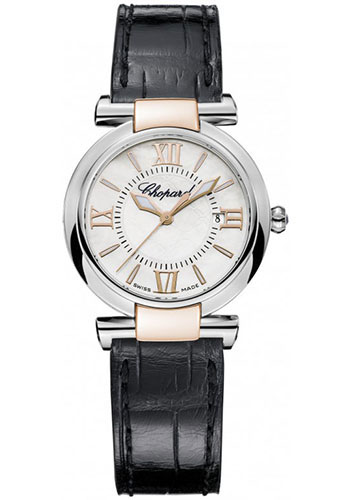 Chopard Watches - Imperiale Quartz 28mm Steel and Gold - Style No: 388541-6001