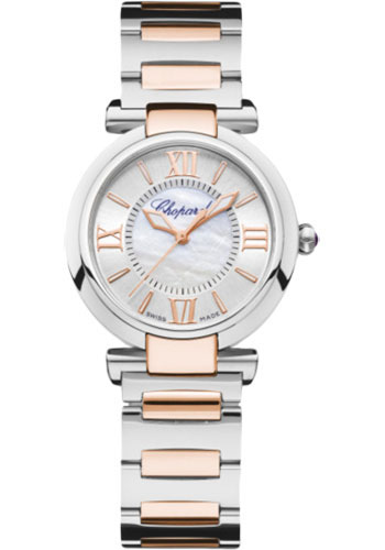 Chopard Watches - Imperiale Automatic - 29mm - Steel and Rose Gold - Style No: 388563-6006