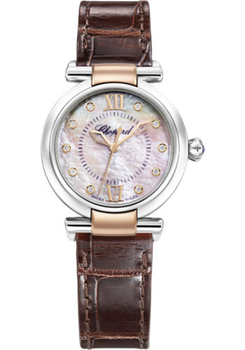 Chopard Watches - Imperiale Automatic - 29mm - Steel and Rose Gold - Style No: 388563-6013