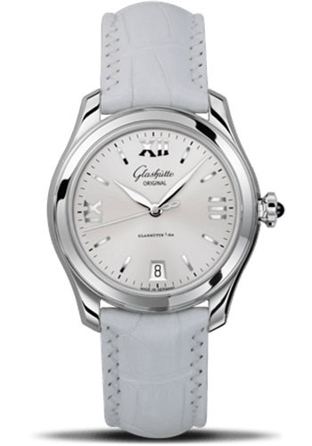 Glashutte Original Watches - Ladies Collection Serenade - Steel - Silver - Style No: 39-22-02-02-04