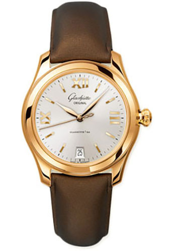 Glashutte Original Watches - Ladies Collection Serenade - Rose Gold - Silver - Style No: 39-22-04-01-44