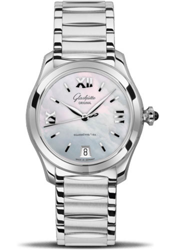 Glashutte Original Watches - Ladies Collection Serenade - Steel - Mother of Pearl - Style No: 39-22-08-02-34