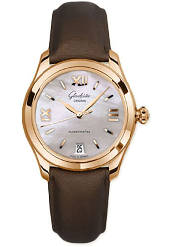 Glashutte Original Watches - Ladies Collection Serenade - Rose Gold - Mother of Pearl - Style No: 39-22-09-01-44