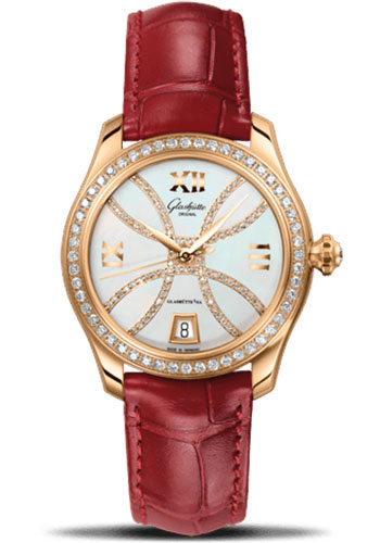 Glashutte Original Watches - Ladies Collection Serenade - Rose Gold - Mother of Pearl - Style No: 39-22-14-11-44