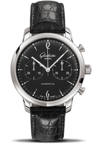 Glashutte Original Watches - 20th Century Vintage Senator Sixties Chronograph - Style No: 39-34-02-22-04