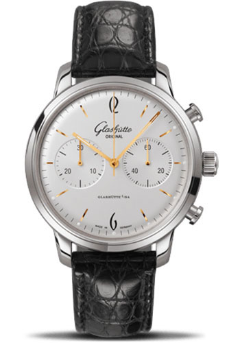 Glashutte Original Watches - 20th Century Vintage Senator Sixties Chronograph - Style No: 39-34-03-22-04