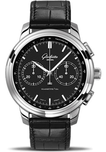 Glashutte Original Watches - Quintessentials Senator Chronograph XL - Style No: 39-34-20-42-04