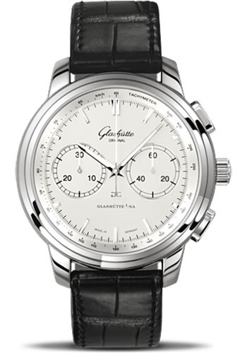 Glashutte Original Watches - Quintessentials Senator Chronograph XL - Style No: 39-34-21-42-04