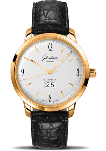 Glashutte Original Watches - 20th Century Vintage Sixties Panorama Date - Style No: 39-47-01-01-04
