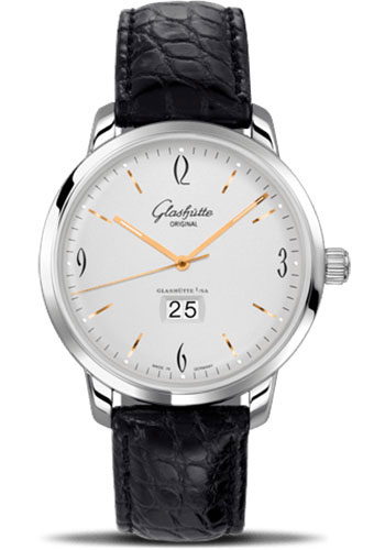 Glashutte Original Watches - 20th Century Vintage Sixties Panorama Date - Style No: 39-47-01-02-04